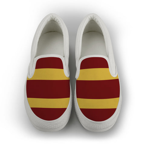 Brisbane - men's Slip On Shoes - White