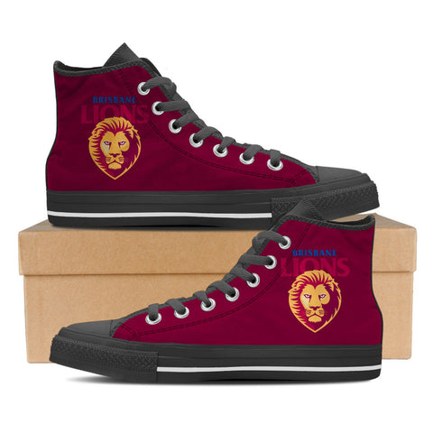 Brisbane Lions Women's High Top Shoes