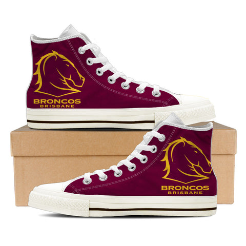 Broncos Mens High Top Shoes