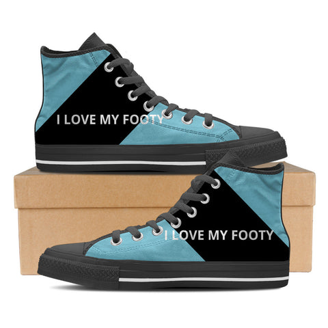 Cornulla - I Love My Footy Men's High Tops