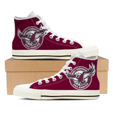Sea Eagles Womens High Top Shoes