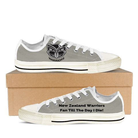 New Zealand Warriors Fan Till I Die Men's Low Tops