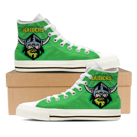 Raiders Mens High Top Shoes