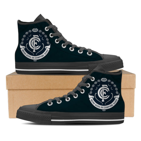Carlton FC Mens High Top Shoes