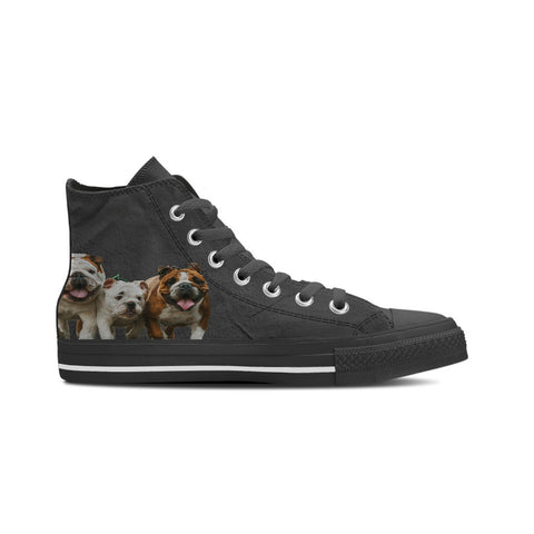 3 Bulldogs -  Men's High Top Shoe