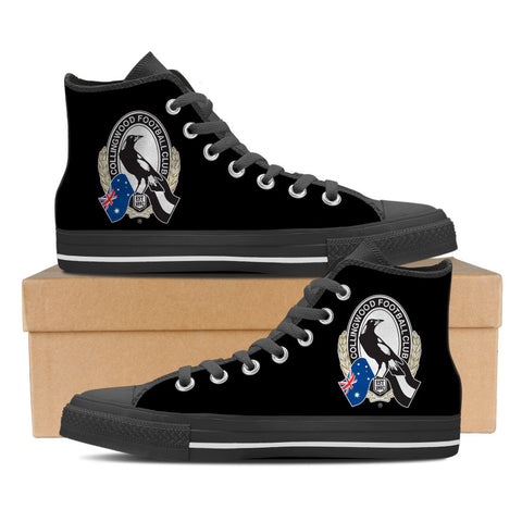 Collingwood FC Women's High Top Shoes