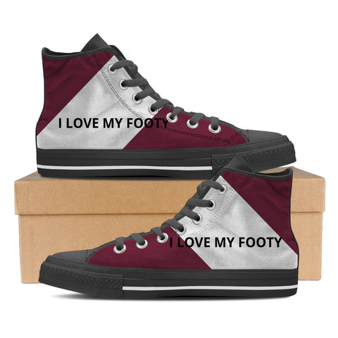 Manly - I Love My Footy Men's High Tops