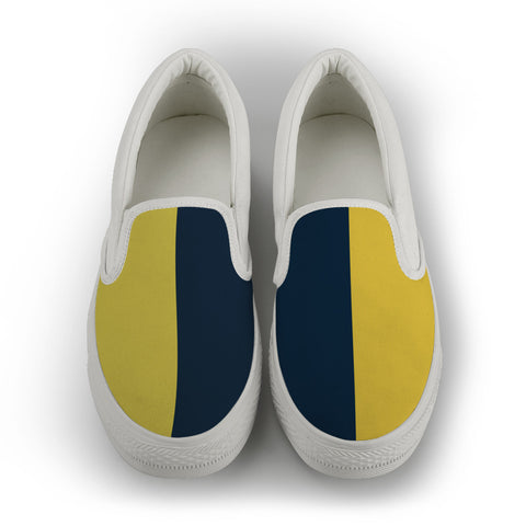 North Queensland - men's Slip On Shoes - White