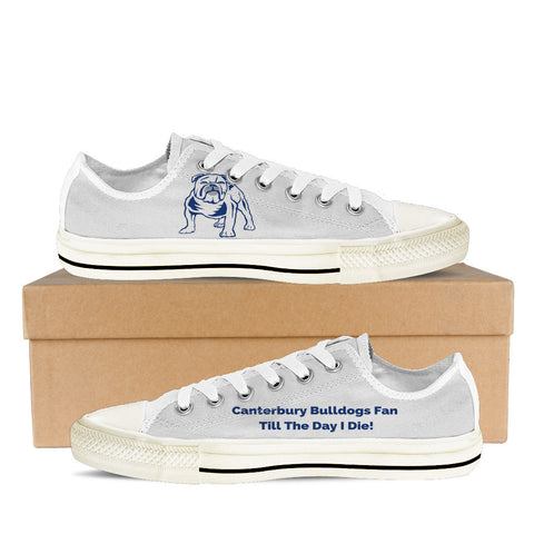 Canterbury Bulldogs Fan Till I Die Women's Low Tops