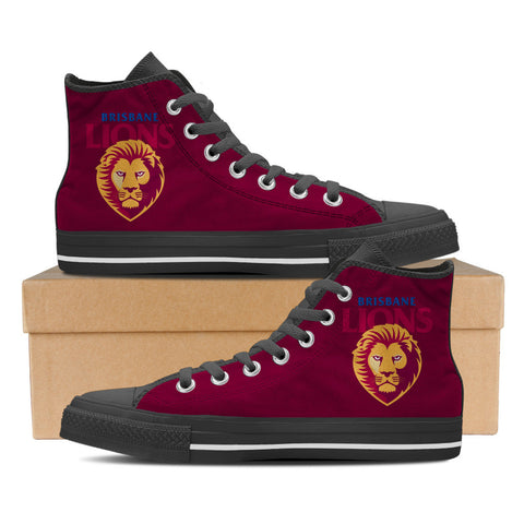 Brisbane Lions Mens High Top Shoes
