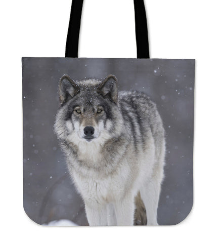 Wolves in the wild - Canvas tote bag collection - FREE [Just Pay Shipping]