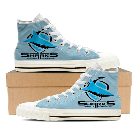 Sharks Womens High Top Shoes