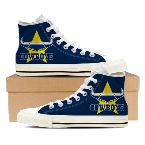 Cowboys Mens High Top Shoes