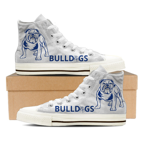 Bulldogs Mens High Top Shoes