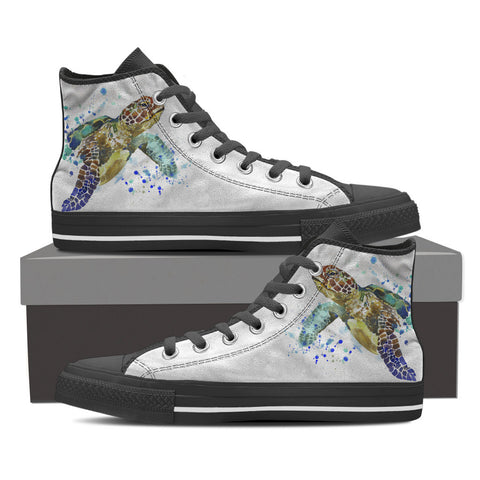 Animal Print Men's High Top