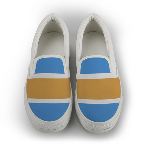 Gold Coast - women's Slip On Shoes - White