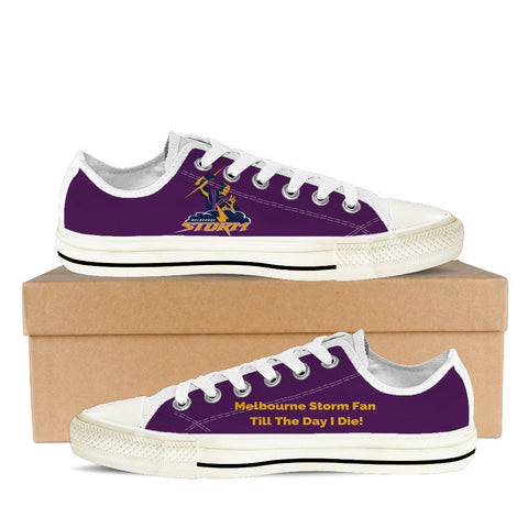 Melbourne Storm Fan Till I Die Men's Low Tops