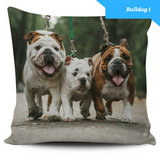 Image of Bulldog Series Pillow Covers