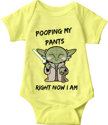 POOPING MY PANTS I AM - BABY ONESIE