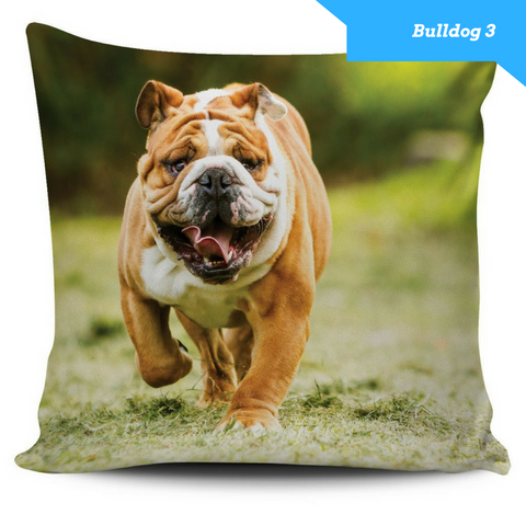 Bulldog Series Pillow Covers