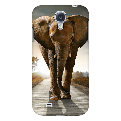 Elephants In The Wild Phone Cases