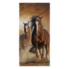 Horse in the wild Collection - [Sunset #2] Beach Towel
