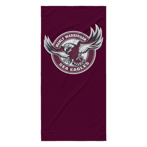 Manly Sea Eagles Beach Towel