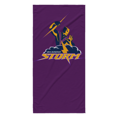 Melbourne Storm Beach Towel
