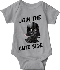 JOIN THE CUTE SIDE - BABY ONESIE