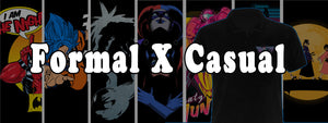 Upscale Casual, Formal wear for Men and Women, Apparel For Geeks, Nerds Cosplayers and Casual Fans of Anime, Gaming, Comics, Adult Animation, Pop Culture and Indie Clothes. these are great for the older crowd who want to still represent what they love.