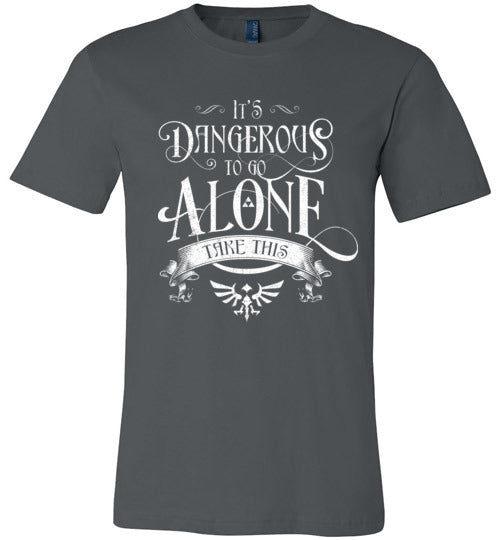 It's Dangerous To Go Alone-Gaming Shirts-Barrett Biggers|Threadiverse