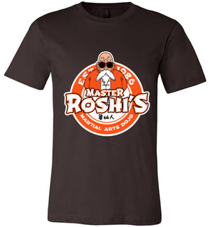 Master Roshi Dojo-Anime Shirts-Carlo1956|Threadiverse