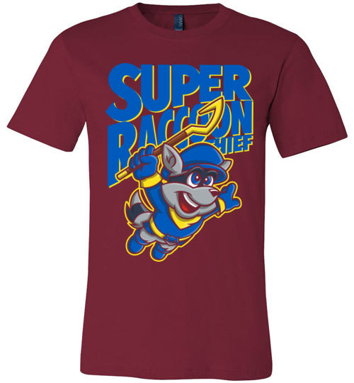 Super Raccoon Thief-Gaming Shirts-Punksthetic Designs|Threadiverse