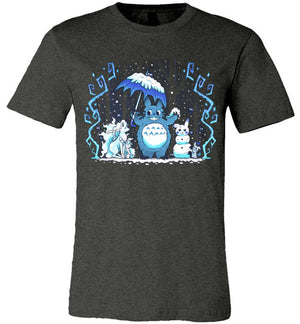 Winter Forest Friends-Anime Shirts-Art Of Sarah Richford|Threadiverse