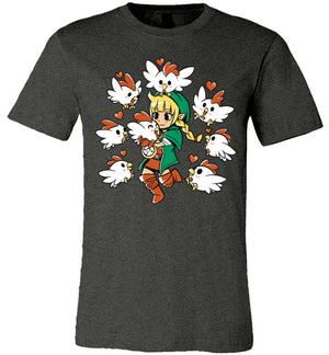 Linkle The Cucco Queen-Gaming Shirts-Art Of Sarah Richford|Threadiverse