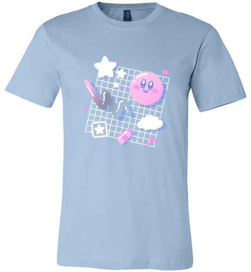 Kirby Aesthetic-Gaming Shirts-Minilla|Threadiverse