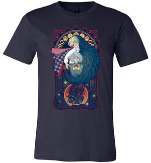 Art of a Moving Castle-Anime Shirts-Chocolate Raisins Art|Threadiverse