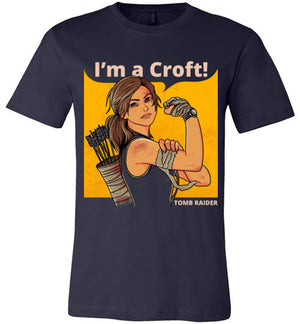 Im a Croft-Gaming Shirts-Angzdu|Threadiverse