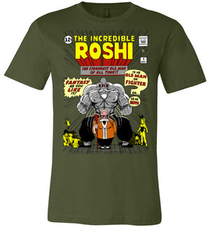 The Incredible Master Roshi-Anime Shirts-Ddjvigo|Threadiverse