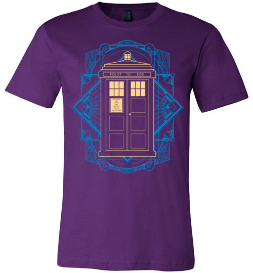 Art Of Tardis-Pop Culture Shirts-Chocolate Raisins Art|Threadiverse
