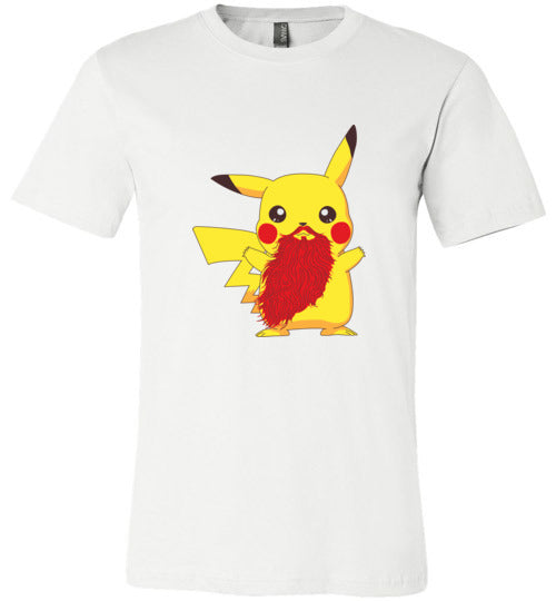 Beardemon Pikachu-Pop Culture Shirts-Darkchoocoolat|Threadiverse