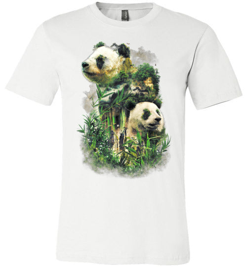 Panda Montage-Indie Shirts-Barrett Biggers|Threadiverse