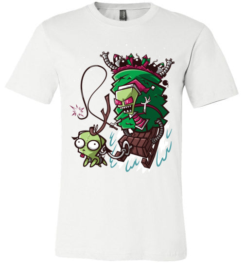 Zim Stole Christmas-Animation Shirts-CoD (Create Or Destroy) Designs|Threadiverse