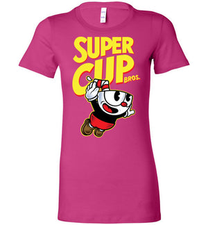 Cup Head Bros-Gaming Women's Shirts-Demonigote|Threadiverse