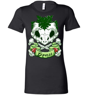 Choose Grass-Gaming Women's Shirts-Chocolate Raisins Art|Threadiverse