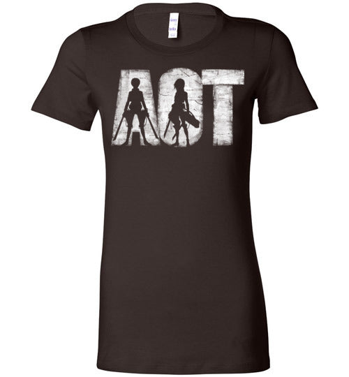 AOT-Anime Women's Shirts-Ddjvigo|Threadiverse