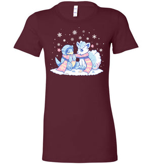 Winter Forms-Gaming Women's Shirts-Art Of Sarah Richford|Threadiverse