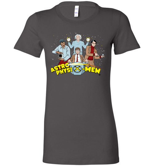 AstroPhysiX-Men-Pop Culture Women's Shirts-Kgullholmen|Threadiverse
