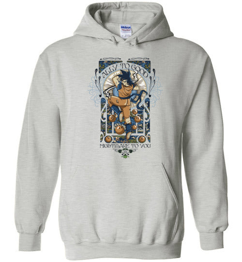 Ally To Good-Anime Hoodies-CoD (Create Or Destroy) Designs|Threadiverse