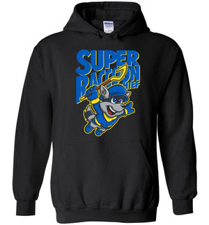 Super Raccoon Thief-Gaming Hoodies-Punksthetic Designs|Threadiverse
